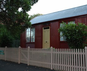 19th Century Portable Iron Houses - Accommodation Great Ocean Road