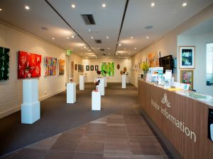 Australian National Botanic Gardens Visitor Centre Gallery - Accommodation Great Ocean Road